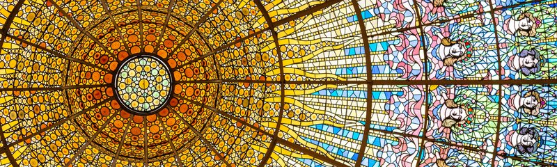 Barcelona Opera Theatre - Stained glass roof light